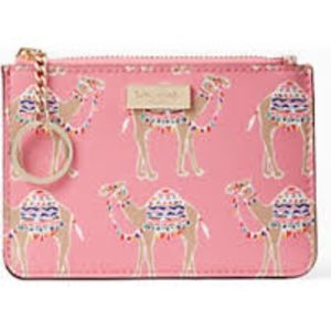 Kate Spade Bitsy camel party wallet